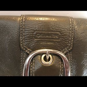 Coach Bags - Coach Patent Leather Wallet Buckle